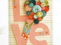 All things created with paper - scrapbooking, cardmaking, paper projects.  LURVE it all!
