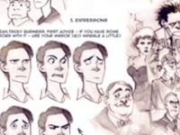 Art references and tutorials for face structure and expression