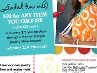 Premier Designs High Fashion Jewelry is the perfect wardrobe expansion technique!  Let me show you how!
