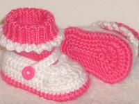 Crochet Baby Booties & Sandals