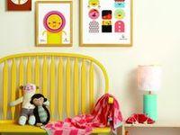 interior - kids and teenagers room