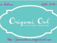 """I am an independent designer for Origami Owl. I can't wait to help you design your YOU-nique locket that tells your story. Contact me or shop http://jennasalinas.origamiowl.com. """"LIKE"""" my facebook page www.facebook.com/JennasUniquelyCharming"""
