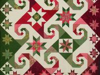Quilts, quilt tips and items made with fabric.