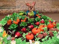 Peter Rabbit cake for Olivia