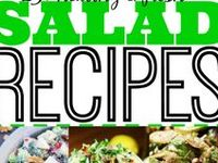 Salad Bar Sensations ♥ Salads, Dressings & Slaws