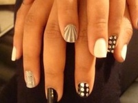 latest #trends in Nails #manicure #polish #color #best #New #nailart  #Nails #Beauty #Fashion
