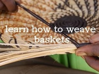 Baskets and weaving