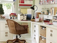 Craft rooms/workspaces, & Organize everything!