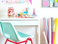 Beautiful and relaxed home offices and craft rooms