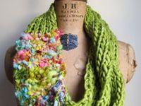 Crochet / Knit Scarf / Cowl Inspiration