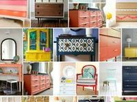 DIY-upcycle crafts & furniture makeovers