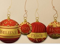 Christmas pretties....but in a very selective catalog.