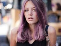 Pelo púrpura <3