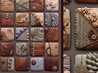 Work of Art quilting beading paint sew ceramic