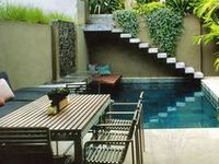 Outdoor Rooms, Porches, Paths, Gardens, Pools, Plants