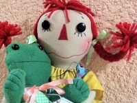 Rags, Dolls, softies and more