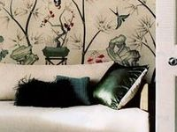 Chic and stylish interiors including famous decorators work