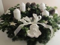 #Wreath#Burlap#Summer#Fabric#Flowers#Fall#Christmas#Advent#Front#Door