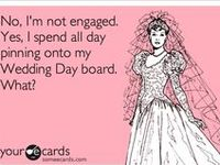 No, I'm not engaged. Yes, I want to professionally plan Weddings.