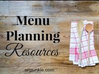 I'm an Organizing Junkie is host to the weekly Menu Plan Monday carnival.