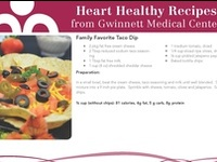 Heart healthy foods, recipes and tips.
