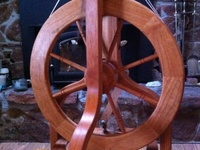 Love of spinning,knitting, weaving with natural fibers.