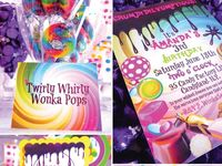 Candyland/Wonka Birthday Party