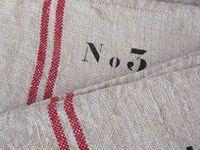 burlap and grain sacks