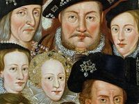 British royalty by blood or marriage. Castle, jewels, period costumes and wars.