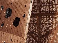 Grand plan sur la créativité architecturale contemporaine