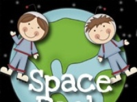 Space craft and printable activities for kids