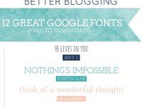 Blog website and designing inspiration