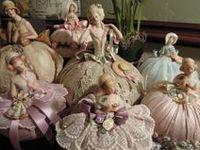 Vintage Half Dolls