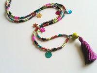 DIY bracelets, necklaces, nots