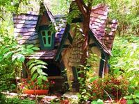 There is something magical and enchanting about fairies, fairy gardens and fairy houses. For me, I started creating fairy gardens by building fairy gardens under a mimosa tree when I was a young girl - the magic continues.