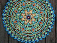 Crochet, weaving, & knitting patterns & inspiration.