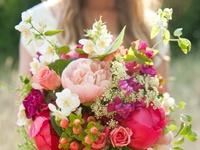 *bouquets de fleurs