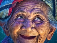 A lifetime before Botox! I'd rather grow old gracefully.