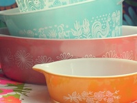Vintage Pyrex obsession, maybe.