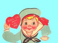 What could be cuter or more sweet than a vintage valentine?