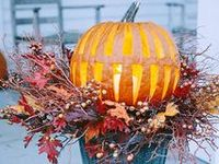 "This is my ""Fall Thing"" kind of board...Halloween & Thanksgiving fun, ideas and decorations.  ~Enjoy~  ""Autumn is a second spring where every leaf is a flower."" ~Albert Camus"