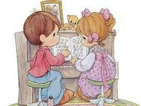 Precious Moments Images and figurines