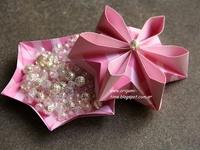 Origami box - caixa e utilidades