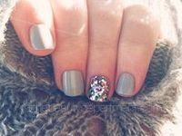 Nails are expressive, and until recently, the most complicated nail design (and popular) was a flower design.  These are new and interesting pictures of nails, which can express your mood, experiences, or your loved ones.