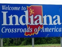 The state of my birth and growing-up years where many good memories still reside!  And, at the ♥ of it all, I'm still a good old hoosier born-n-bred gal!