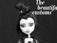 Monster High Mattel dolls and repaints