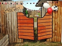 Everything for a Cowboy, Cowgirl, Western or Pony themed party