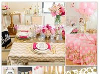 Be it a dinner party, a birthday party or an informal get together among friends...this girl loves a good party...and all the fun planning that goes into it!