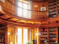 Libraries, great & small.  Love them, its my favorite room in my house.  Although mine isn't grand, it's cozy.
