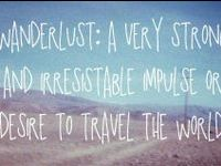 I travel therefore I experience wonder .....travel is good for your soul!